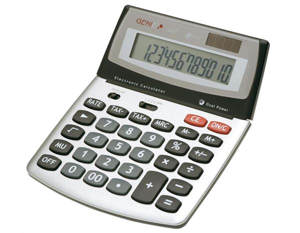Office equipment: Genie 560T, 12 DIGIT DESK