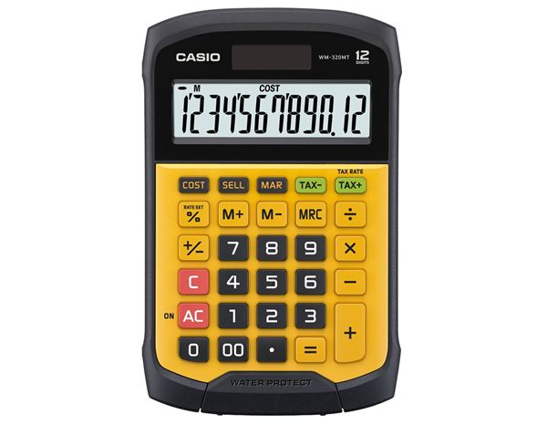 Calculators: CASIO digit desk