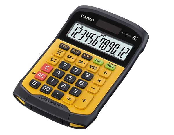 Calculators: CASIO digit desk 1