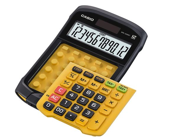 Calculators: CASIO digit desk 4