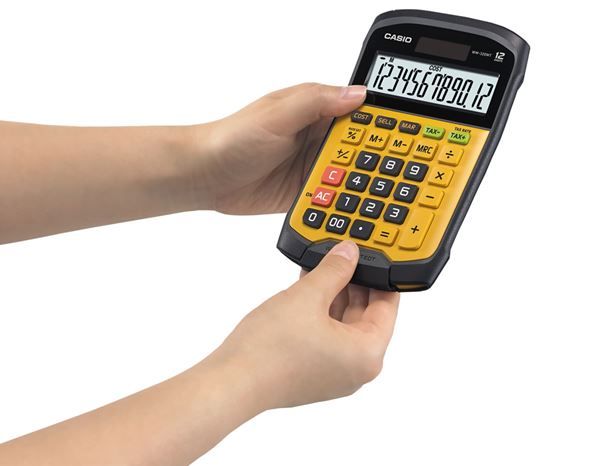 Calculators: CASIO digit desk 2