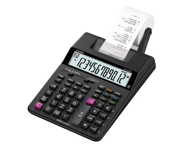 Equipement de bureau: Calculatrice imprimante Casio HR-150RCE