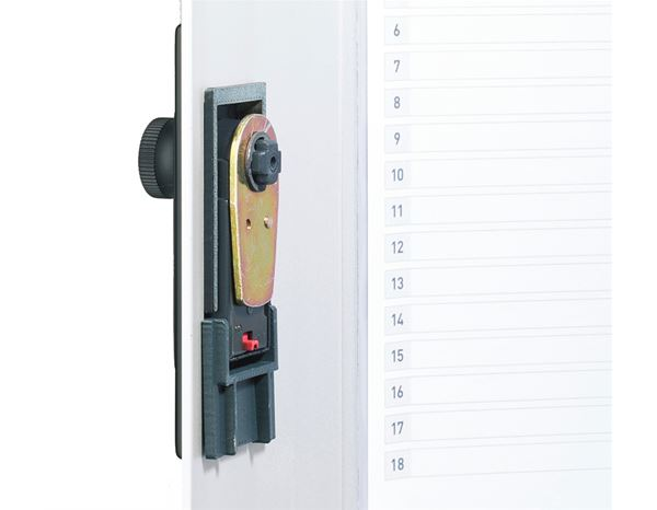 Storage: DURABLE key cabinet with number lock + silver-metallic 2