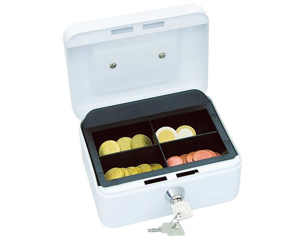 Cash Boxes: WEDO Cash & Valuables Boxes + white