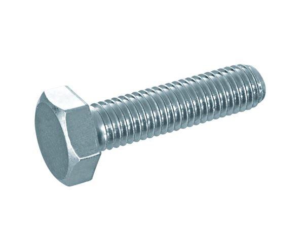Sechskant-Schrauben V2A M16x80 D/´s Items/® Edelstahl A2 - - Gewindeschrauben Sechskantschrauben DIN 933 10 St/ück Maschinenschrauben mit Vollgewinde