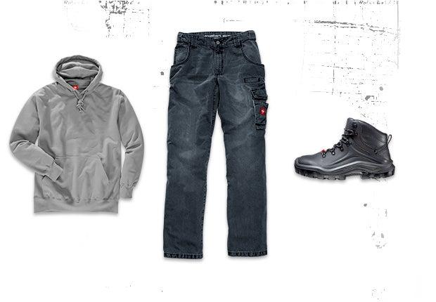 winter jacket of the e s denim workwear collection. Black Bedroom Furniture Sets. Home Design Ideas