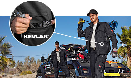 engelbert strauss Work Jackets with Kevlar pockets
